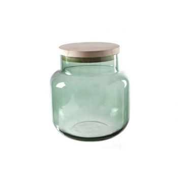 Cosy @ Home Wind Light Green Cylindrical Glass 18x18