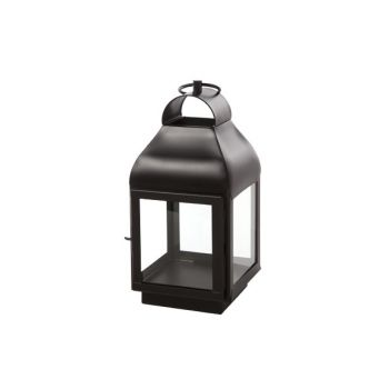 Cosy @ Home Lantern Brown Square Metal 17,75x17,75xh