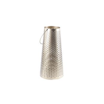 Cosy @ Home Lantern Gold Metal 21,5x21,5xh42