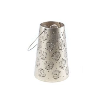 Cosy @ Home Lantern Gold Metal 16,5x16,5xh24