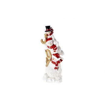 Cosy @ Home Snowman Multi-color Ceramic 10x9xh26 Tri