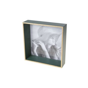 Cosy @ Home Frame  Green Square Wood 17,6x4,6xh17,6