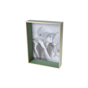 Cosy @ Home Frame  Green Rectangular Wood 17,6x4,6xh