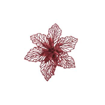 Cosy @ Home Poinsettia Clip Red Synthetic 0x17,78xh1