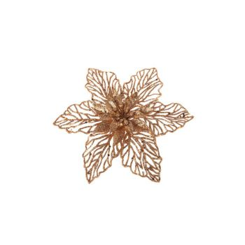 Cosy @ Home Poinsettia Clip Copper Synthetic 0x17,78