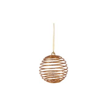 Cosy @ Home Xmas Ball Copper Synthetic 0x0xh15,24 Gl
