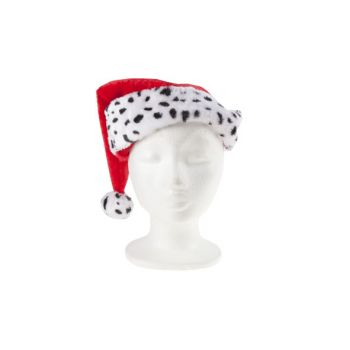 Cosy @ Home Xmas Hat Red White Textile L30 B40