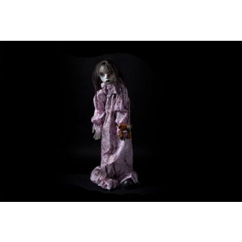 Cosy @ Home Doll Standing White Polyester 70x16xh75