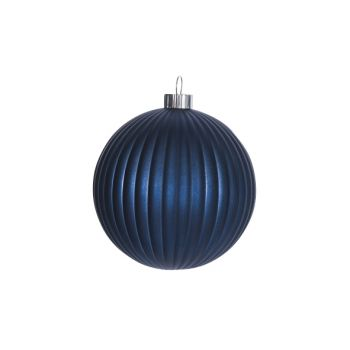 Cosy @ Home Xmas Ball Blue Synthetic 15x15xh15 Pumpk