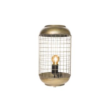 Cosy @ Home Lamp Brass Round Metal 21x21xh94