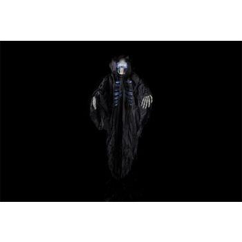 Cosy @ Home Skeleton Hanging Black Textile 125x16xh1