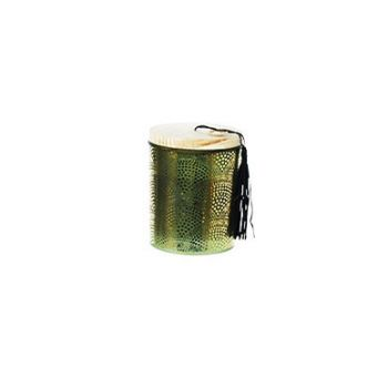 Cosy @ Home Candle Holder  Green Glass 9x9xh11cm