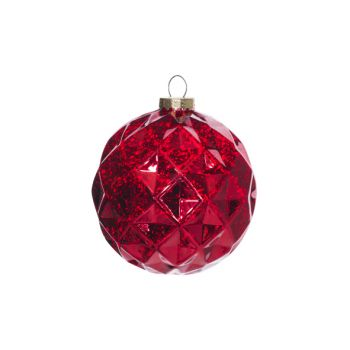 Cosy @ Home Xmas Ball Burgundy Synthetic 15x15xh15 A