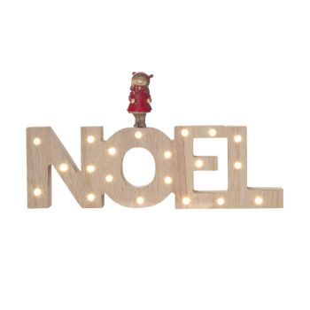 Cosy @ Home Letter Deco Red Wood 3x25xh14