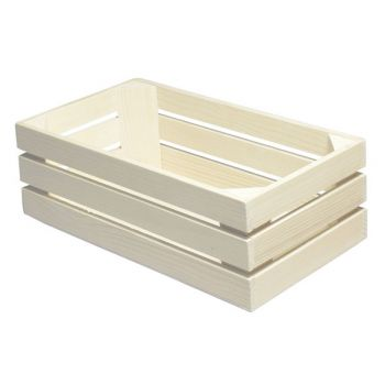 Bisetti Gnbox 1-3 Wood Naturel 32x17.1xh10.5cm