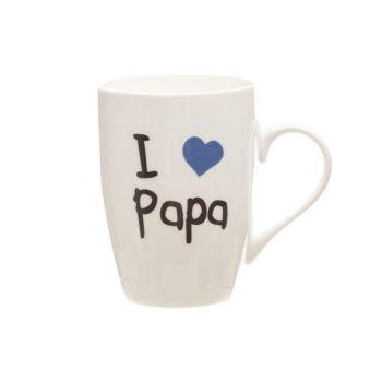 Cosy & Trendy Mug 'i Love Papa' 360ml D8,3xh10,5cm