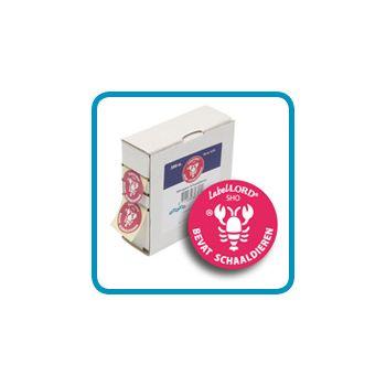 Labellord Allergenes Crustaceans 25mm Set500 Label