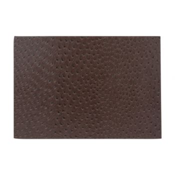 Cosy & Trendy Placemat Leather L. Brown 43xh30cm
