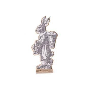 Cosy @ Home Rabbit Bunny Basket White 14x6xh30cm