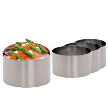Cosy & Trendy Food Presentation Ring D9xh5.5cm Set4