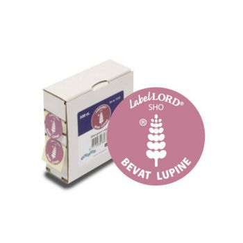 Labellord Allergenes Lupin 25mm Set500 Labels