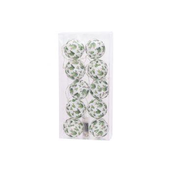 Cosy @ Home Garland Cactus 10l White Green 165cm