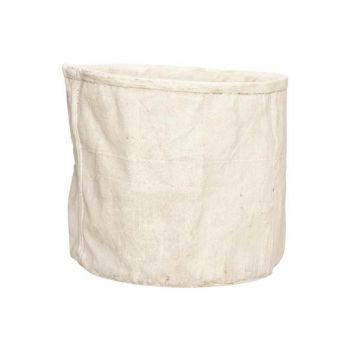 Cosy @ Home Flowerpot Cream 27,5x26xh23,5cm Round Ce