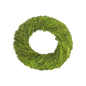 Cosy @ Home Wreath Laurel Green 31x31xh6cm Round