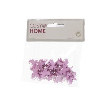 Cosy @ Home Butterflies Deco 24pcs In Polybag Pink 2
