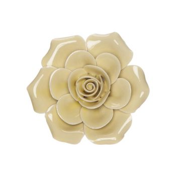 Cosy @ Home Rose Yellow 6x6xh3cm Porcelain
