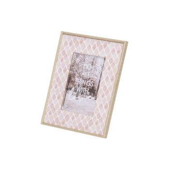 Cosy @ Home Photoframe Pink 18x1,5xh23cm Square Wood
