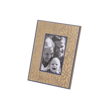 Cosy @ Home Photoframe Gold Blue 19x1,4xh24cm Rectan