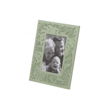Cosy @ Home Photoframe Jungle L.green 18x1,2xh23,5