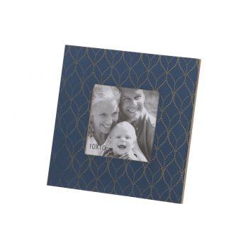 Cosy @ Home Photoframe Petrol Blue 18x1,2xh18cm Wood