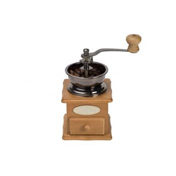 Cosy & Trendy Coffee Mill Retro Natural Wood