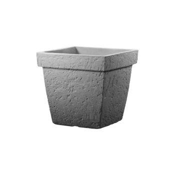 Cosy & Trendy Cp Topf Pisa Square 40x40xh35cm Grey