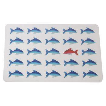 Ricolor Cutting Board Fish 23.5x14.5cm