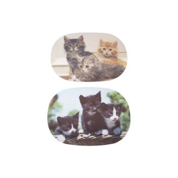 Ricolor Cutting Board Cats 6 Types Oval