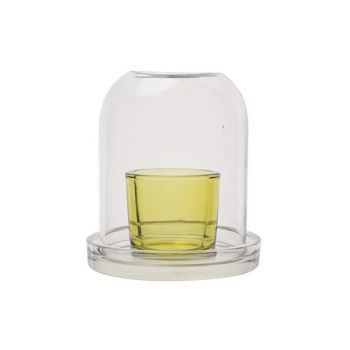 Cosy @ Home Tealight Holder Bell Green 114x114xh130c