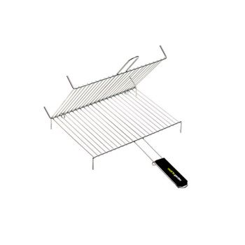 Cook'in Garden Barbecuegrill Dubbel Voet 1hv 40x30cm