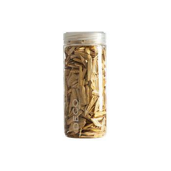 Eurosand Effect Wood Flakes 500 Ml Yellow Wood