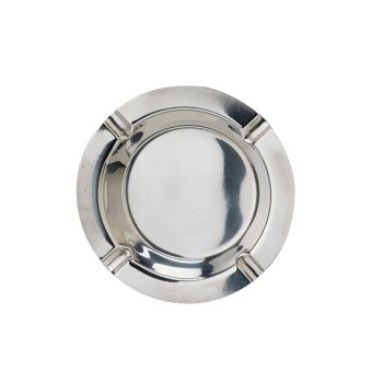 Cosy & Trendy Budget Ashtray D12cm Stainless Steel