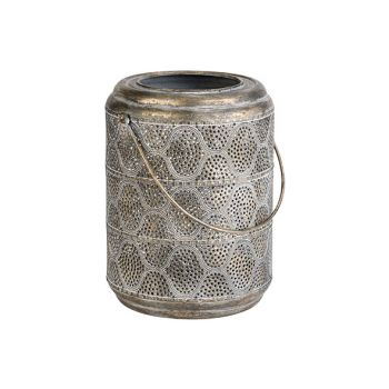 Cosy @ Home Lantern Lamp Gold 20,5x18,5xh25cm Metal