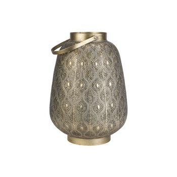 Cosy @ Home Lantern Maroc Gold 34x34xh47cm Metal