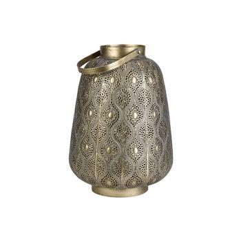 Cosy @ Home Lantern Maroc Gold 28x28xh25cm Metal