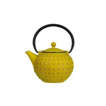 Cosy & Trendy Sakai Teapot Goldgreen 1l Cast Iron