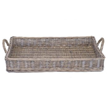 Cosy @ Home 58x39xh12.5cm Willow Basket
