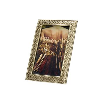 Cosy @ Home Photoframe Gold 12,5x2xh18cm Polyresin
