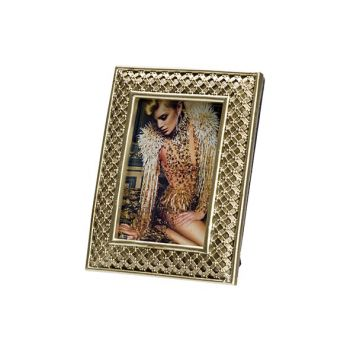 Cosy @ Home Photoframe Gold 9x1,5xh12cm Polyresin