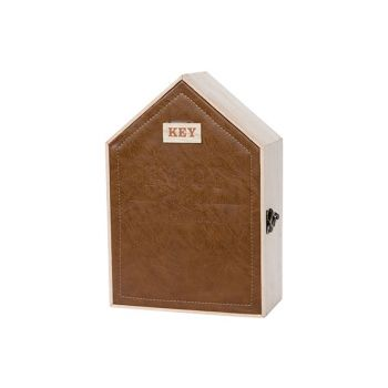 Cosy @ Home Cabinet Keys Nature 19x9xh27cm Wood